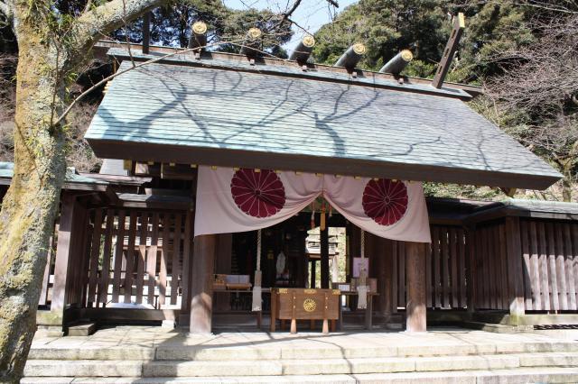 福井県金崎宮の本殿