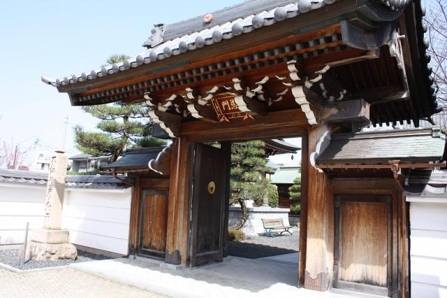福井県永賞寺の山門