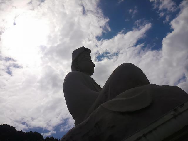 霊山観音教会の像