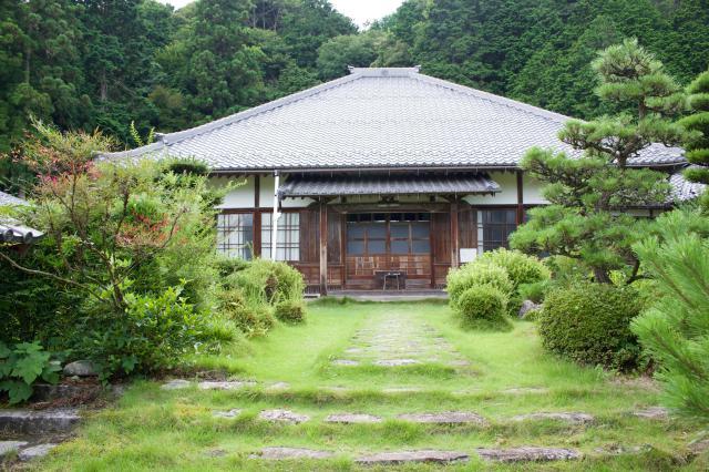 岐阜県禅幢寺の本殿