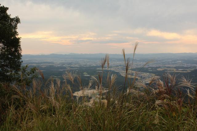 三草山神社の景色