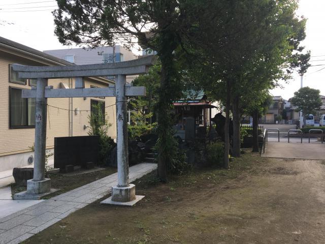 押切稲荷神社の鳥居