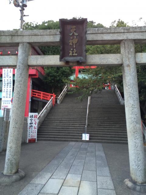 徳島県天神社の本殿