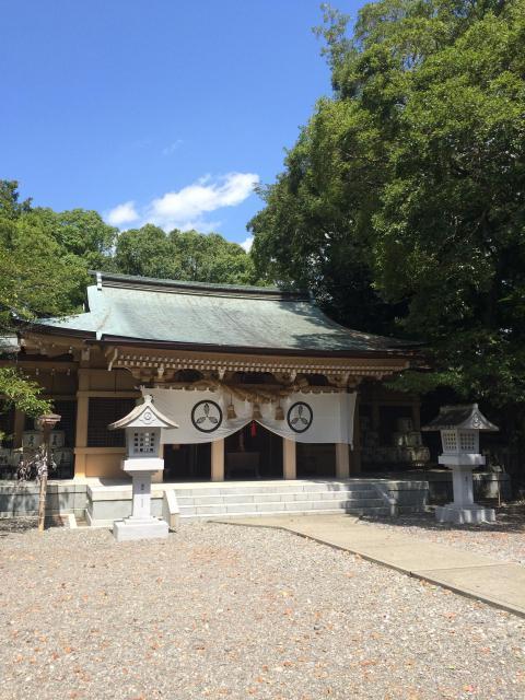 高知県山内神社 の本殿