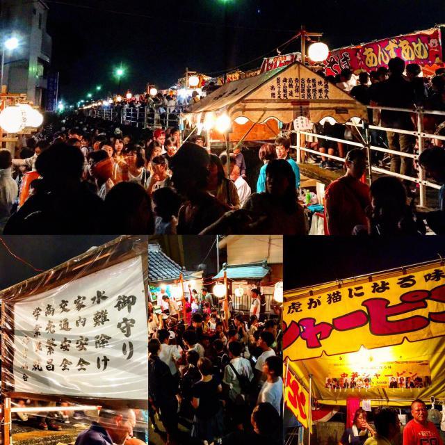 湊水神社(千葉県行徳駅) - お祭りの写真