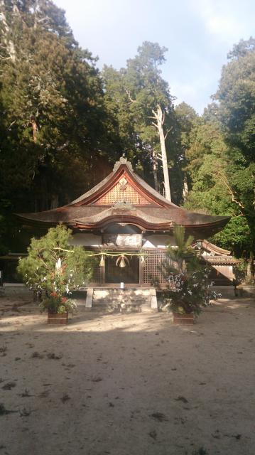 油日神社の建物その他