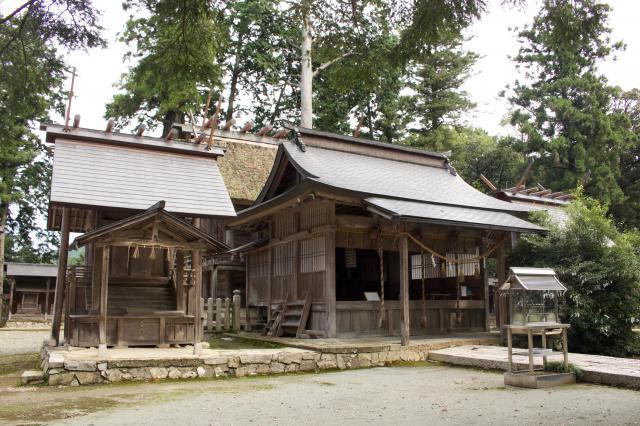 京都府豊受大神社の本殿