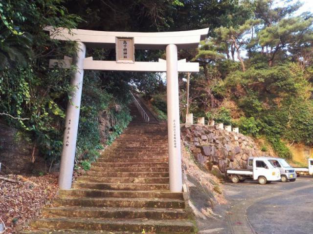 鹿児島県高千穂神社の鳥居