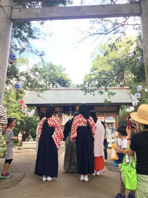 山縣神社の鳥居