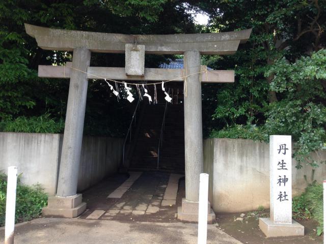 千葉県丹生神社の鳥居