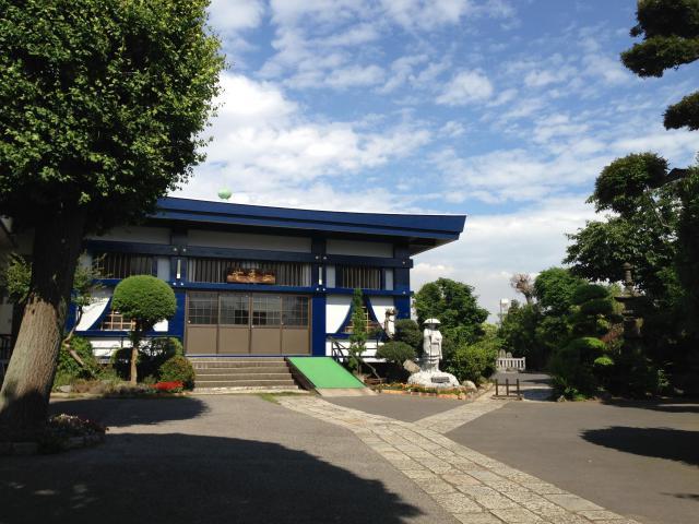千葉県西光寺の本殿
