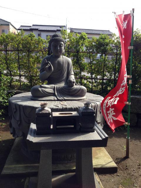千葉県東福寺の仏像
