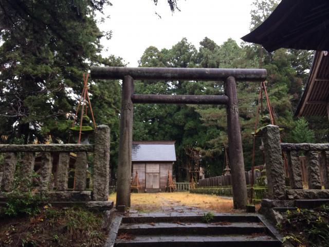 新潟県蒼柴神社の鳥居