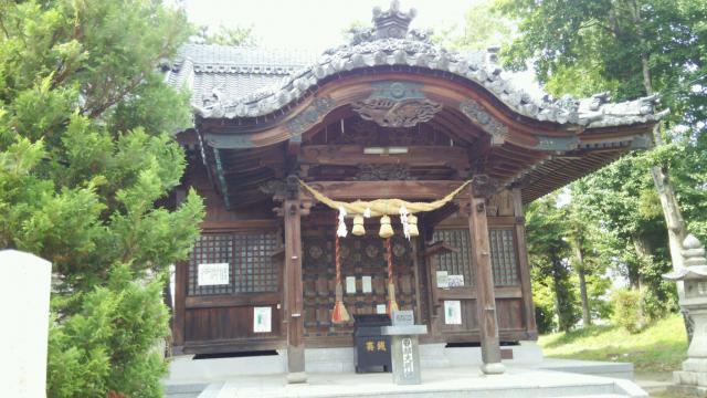 岐阜県結神社(結大明神)の本殿