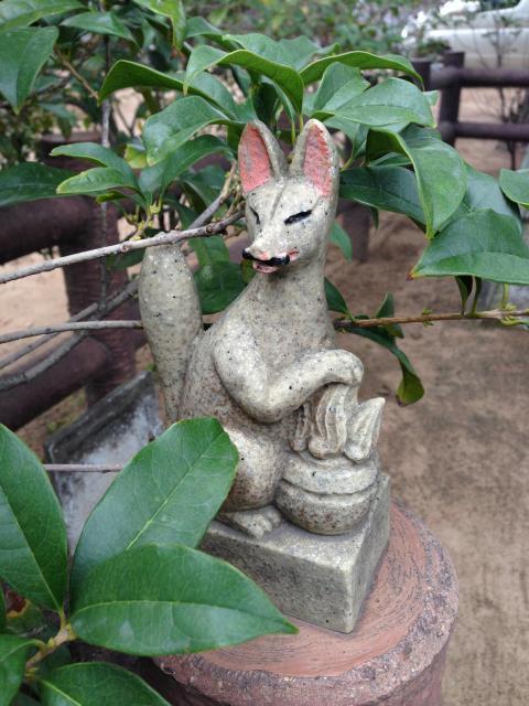 千葉県胡録神社の狛犬