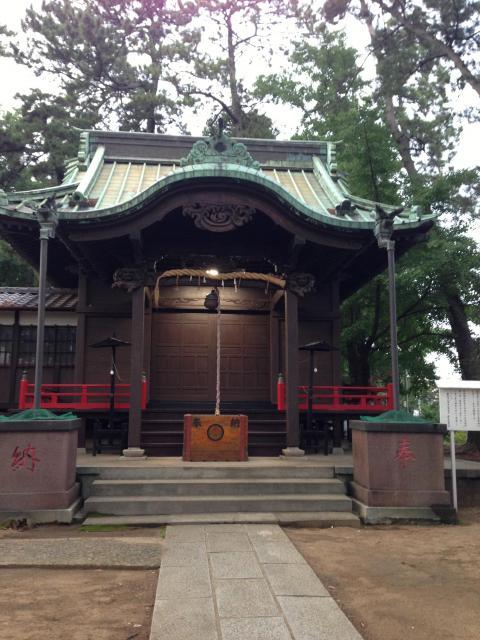 諏訪神社(千葉県菅野駅) - 本殿・本堂の写真