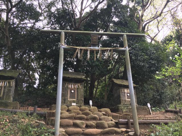 神奈川県走水神社の鳥居