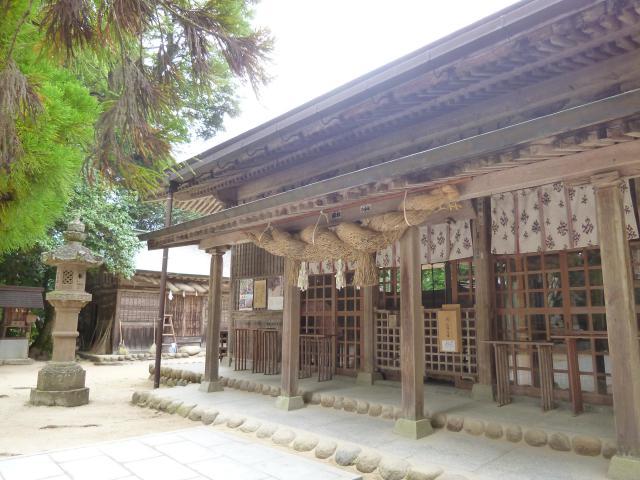 島根県玉作湯神社の本殿