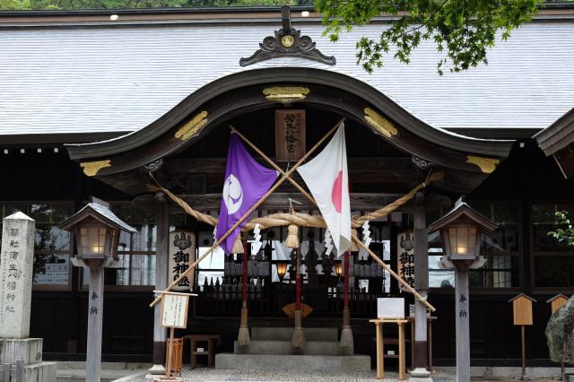 福岡県蒲生八幡神社の本殿