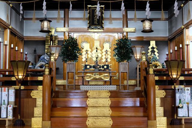 福岡県九州石鎚大権現社 の本殿