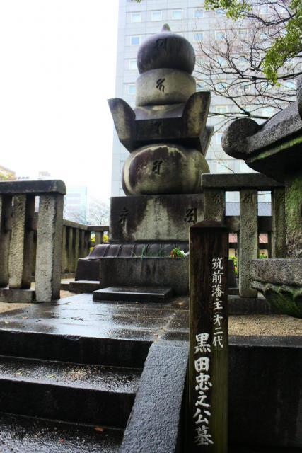 東長寺(福岡県祇園駅) - お墓の写真