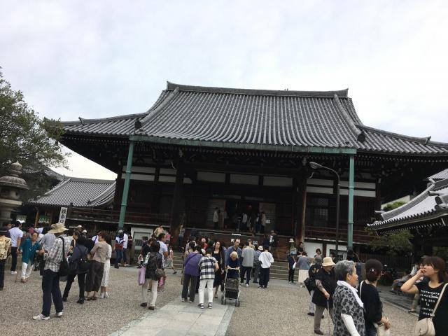 大阪府一心寺の本殿