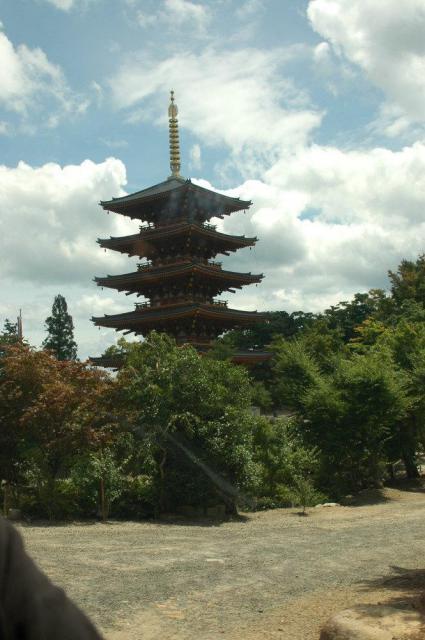 成相寺の塔
