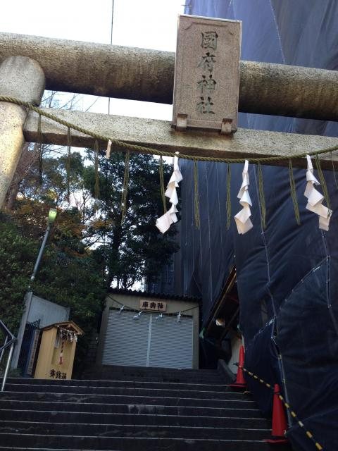 國府神社(千葉県国府台駅) - 鳥居の写真