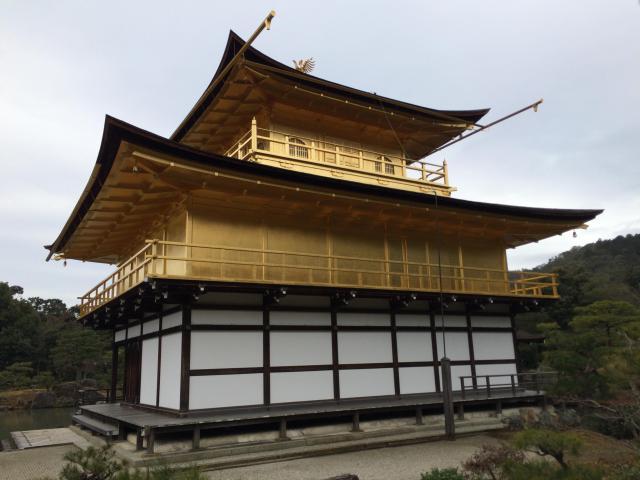 鹿苑寺(金閣寺)の本殿