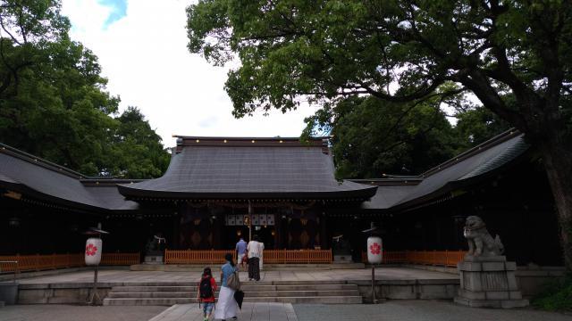 兵庫縣姫路護国神社の本殿