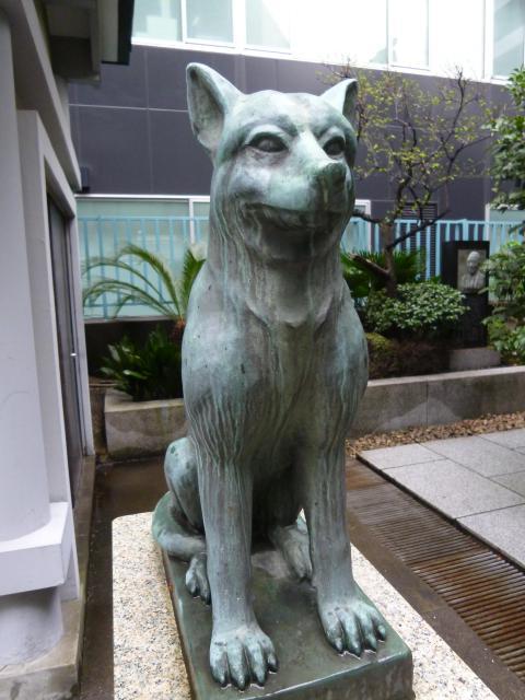 宮益御嶽神社(東京都渋谷駅) - 狛犬の写真