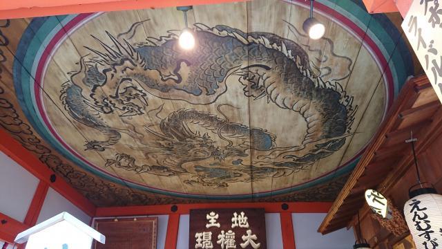京都府地主神社の芸術