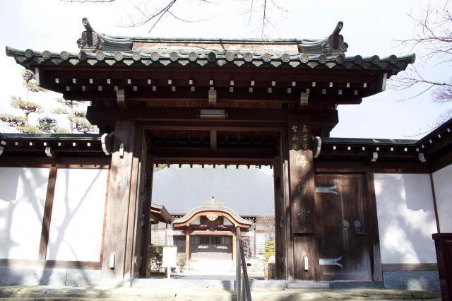 海禅寺の山門