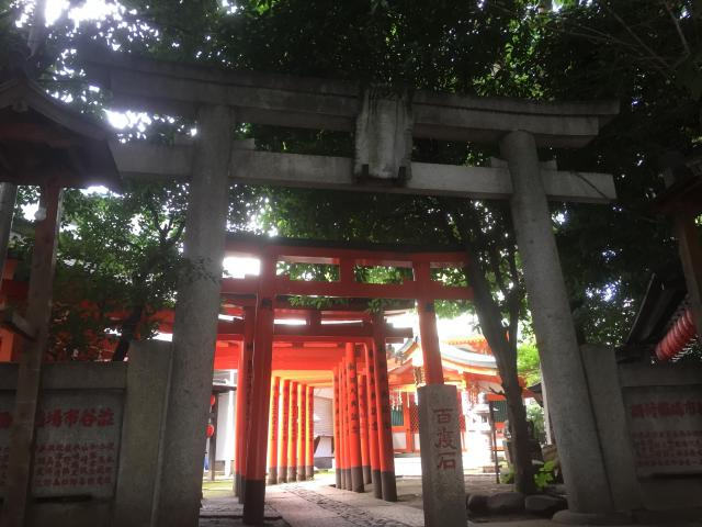 東京都豊栄稲荷神社の本殿