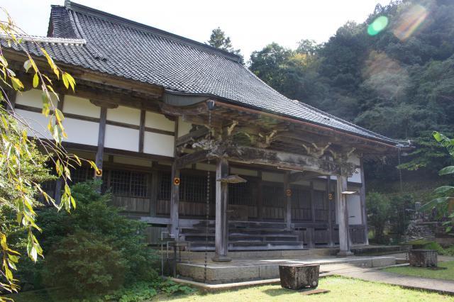 兵庫県経王寺の本殿