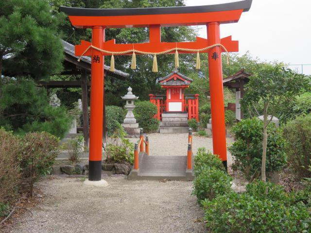 奈良県推古天皇社の鳥居