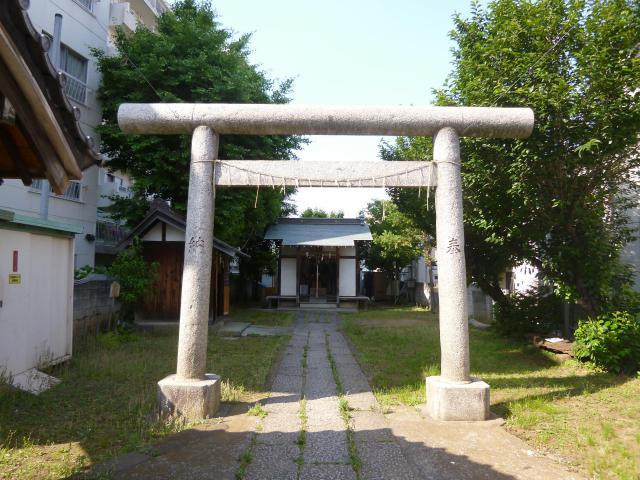 東京都天祖神社の鳥居