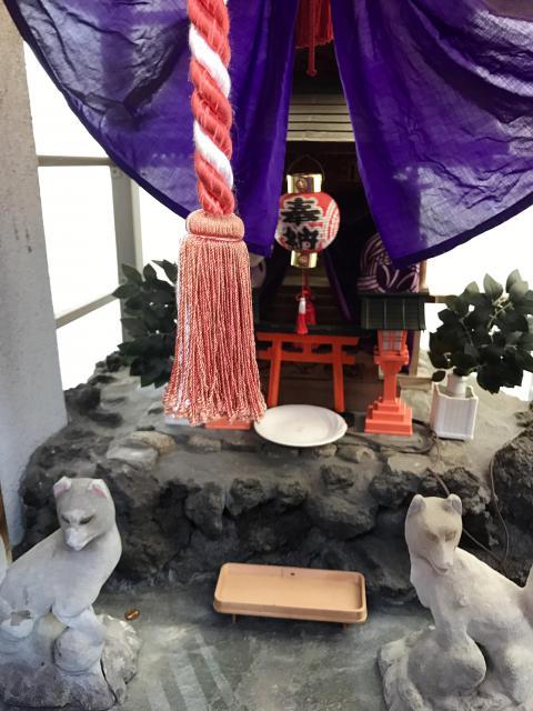 諏訪神社の近くの神社お寺|清水川稲荷神社