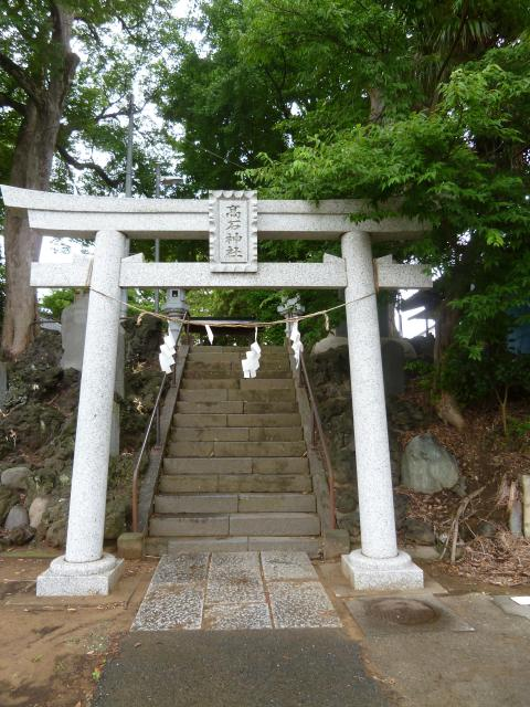 高石神社の鳥居