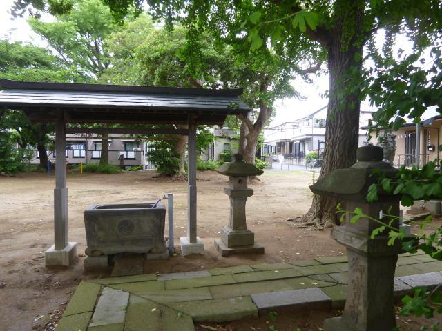 高石神社の景色
