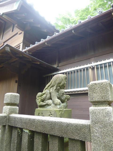 高石神社の狛犬