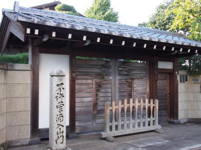 東京都真如院の建物その他