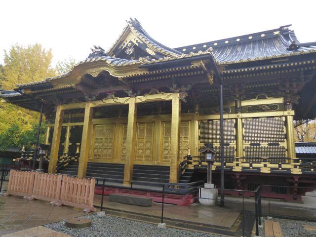上野東照宮の本殿