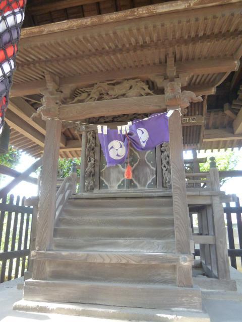 千葉県白籏神社の末社