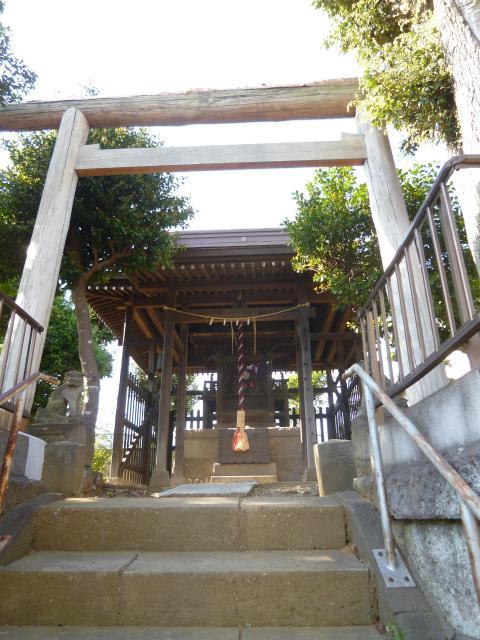 千葉県白籏神社の鳥居