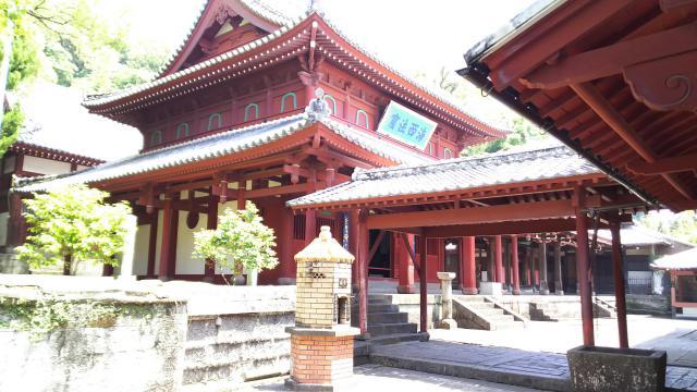 長崎県崇福寺の本殿