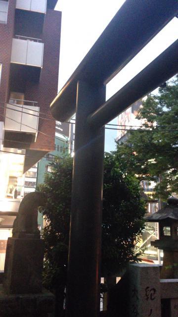 東京都秋葉神社の鳥居