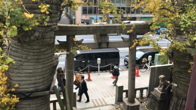 誕生八幡神社の鳥居