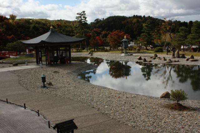 石川県倶利迦羅不動寺鳳凰殿の写真