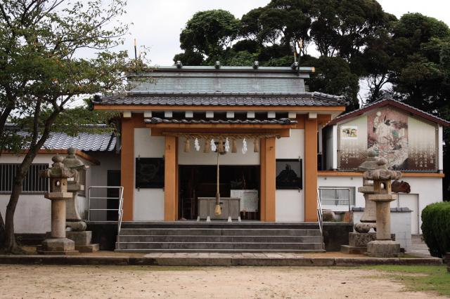 山口県豊功神社の建物その他